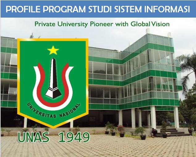 Program Studi Sistem Informasi Unas